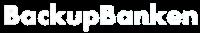 backupBanken logo hvit